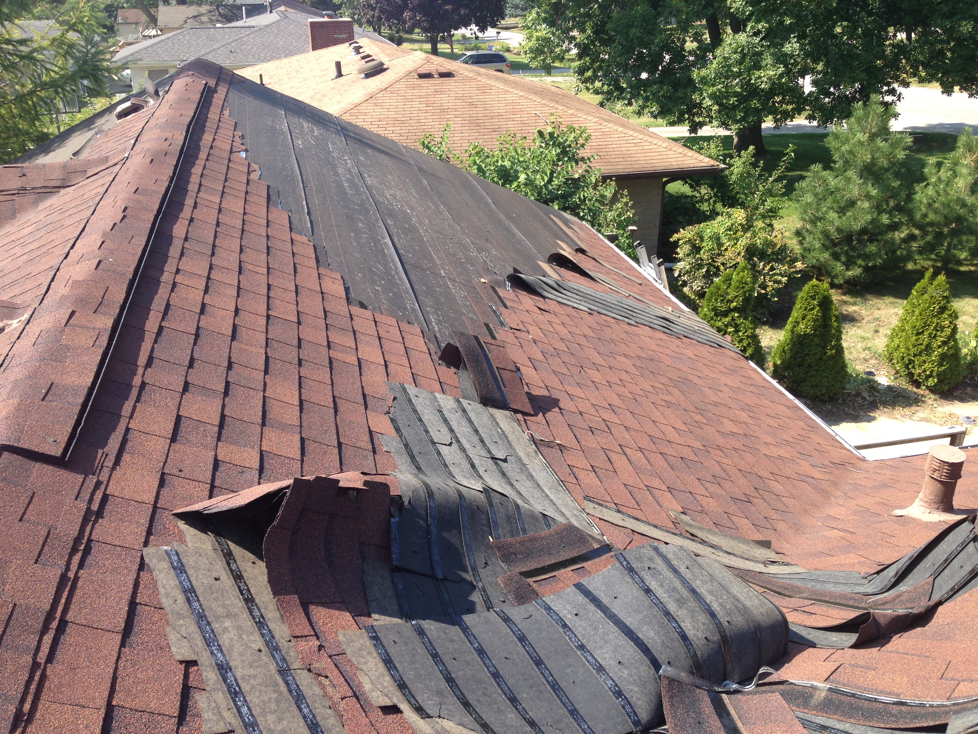 a homeowner s roofing project gone wrong home by home