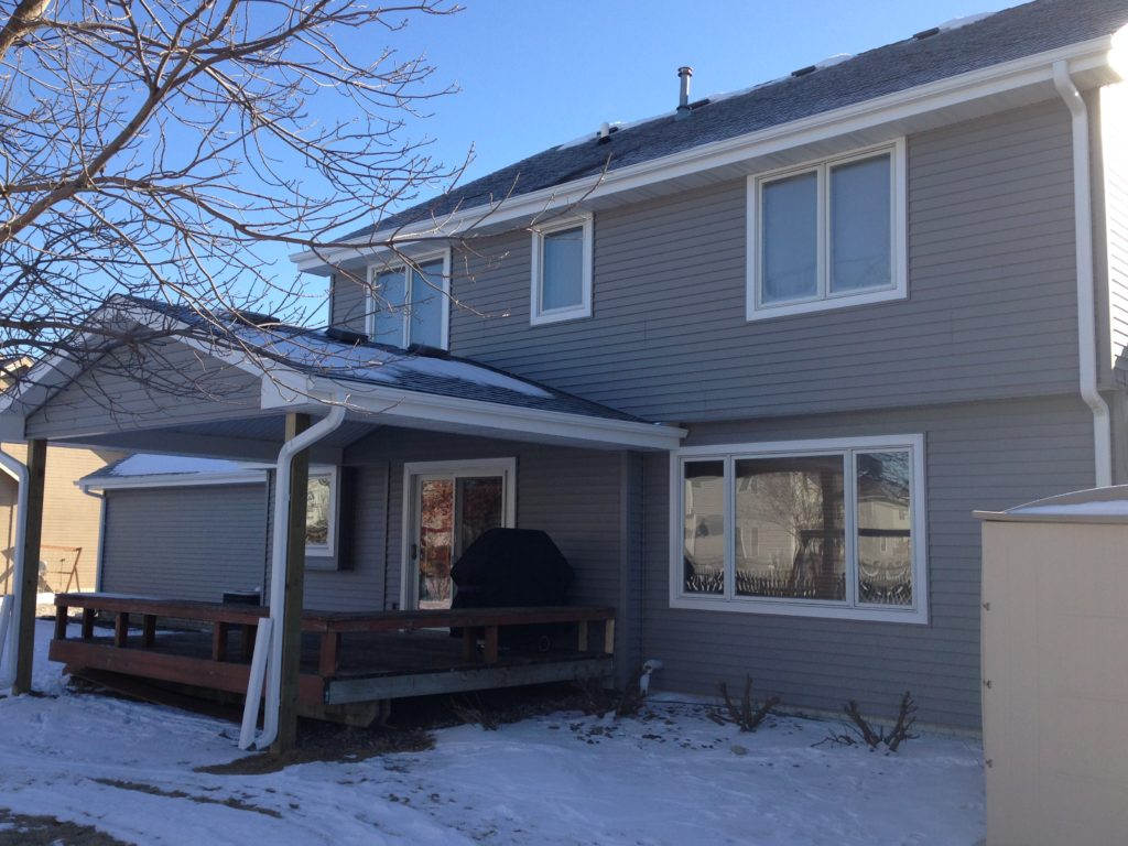 Siding And Covered Deck Roof Home By Home Exteriors